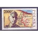 Polska 1991 Mi 3351 Fi 3202 Czyste **