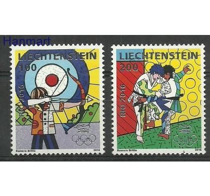 Znaczek Liechtenstein 2016 Mi 1818-1819 Czyste **