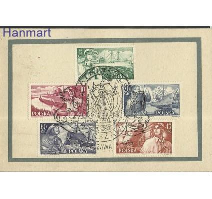 Znaczek Polska 1956 Mi mh 959-963 Fi mh 815-819 Stemplowane