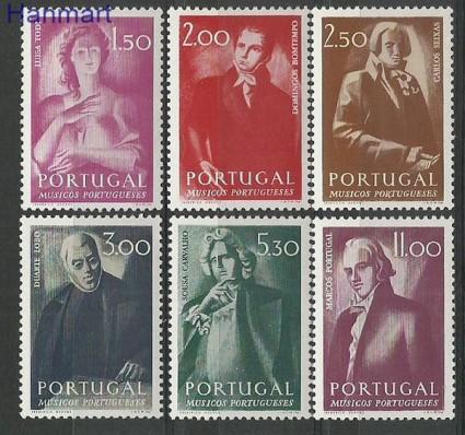 Znaczek Portugalia 1974 Mi 1254-1259 Czyste **