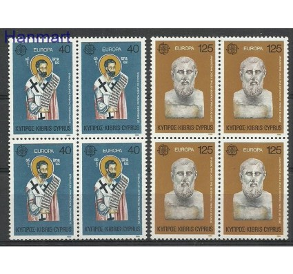 Znaczek Cypr  1980 Mi vie520-521 Czyste **