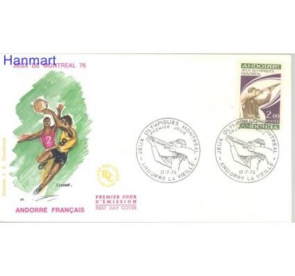 Znaczek Andora Francuska 1976 Mi 277 FDC