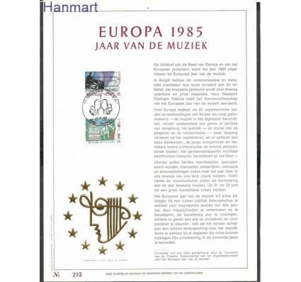 Znaczek Belgia 1985 Mi CAMVL 2227-2228b Inne