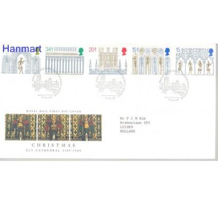 Znaczek Wielka Brytania 1989 Mi 1235-1239 FDC
