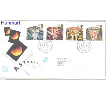 Znaczek Wielka Brytania 1990 Mi 1296-1299 FDC