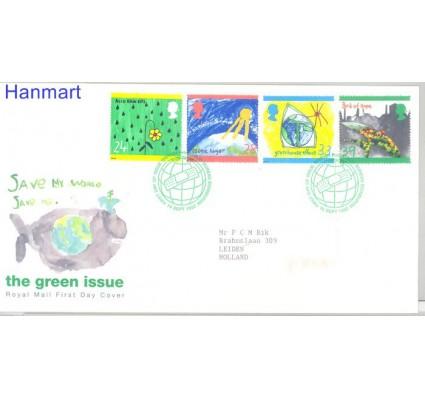 Znaczek Wielka Brytania 1992 Mi 1414-1417 FDC