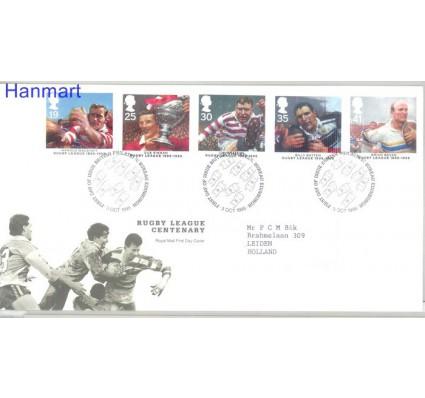 Znaczek Wielka Brytania 1995 Mi 1591-1595 FDC