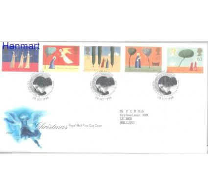 Znaczek Wielka Brytania 1996 Mi 1662-1666 FDC