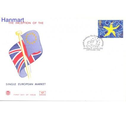 Znaczek Wielka Brytania 1992 Mi 1418 FDC