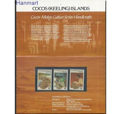 Znaczek Wyspy Kokosowe / Keelinga 1985 Mi pp131-133 Czyste **