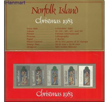 Znaczek Norfolk 1983 Mi pp310-314 Czyste **