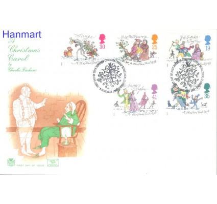Znaczek Wielka Brytania 1993 Mi 1483-1487 FDC