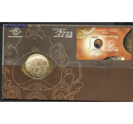 Znaczek Indonezja 1999 Mi bl 147 FDC
