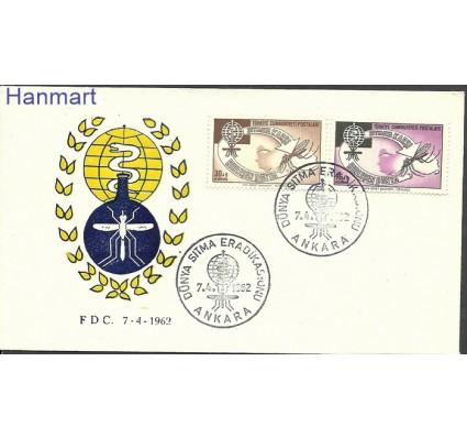 Znaczek Turcja 1962 Mi 1832-1833 FDC