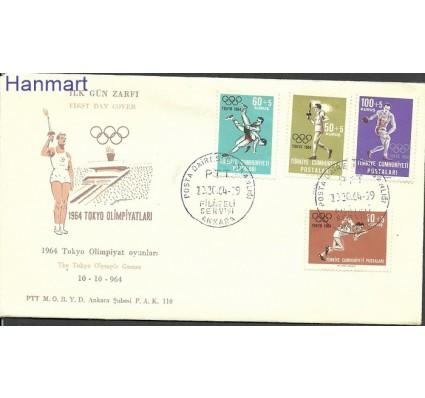 Znaczki Olimpiada Letnia 1964 Tokio Turcja 070936944e7fc