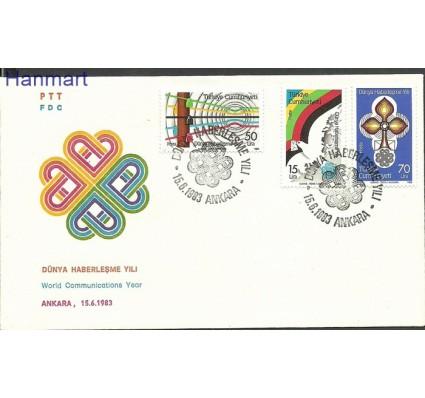 Znaczek Turcja 1983 Mi 2645-2647 FDC