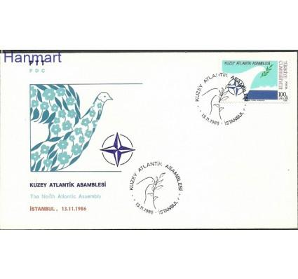 Znaczek Turcja 1986 Mi 2764 FDC