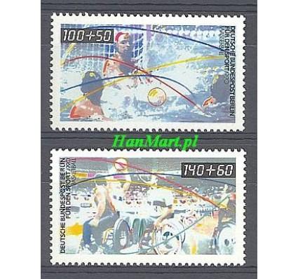 Znaczek Berlin Niemcy 1990 Mi 864-865 Czyste **