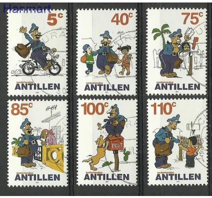 Znaczek Antyle Holenderskie 2001 Mi 1106-1111 Stemplowane