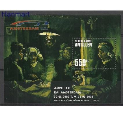 Znaczek Antyle Holenderskie 2002 Mi bl57 Stemplowane