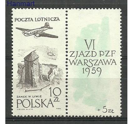 Znaczek Polska 1959 Mi zf1101a Fi zf 956a Czyste **
