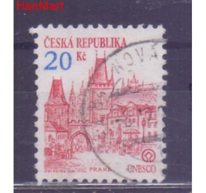 Znaczek Czechy 1993 Mi mpl18d Stemplowane