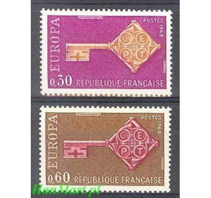 Znaczek Francja 1968 Mi 1621-1622 Czyste **