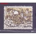 Czechy 1995 Mi mpl72a Stemplowane