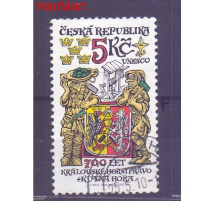 Znaczek Czechy 2000 Mi mpl245f Stemplowane
