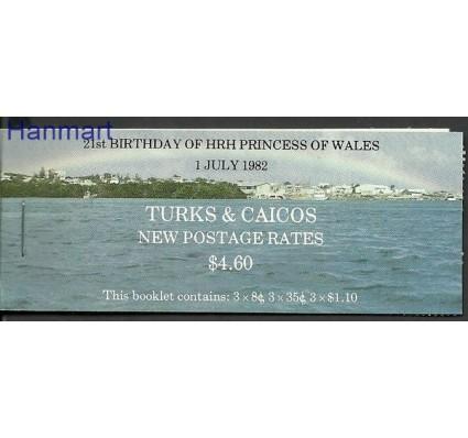 Znaczek Turks i Caicos 1982 Mi mh598--599+603 Czyste **