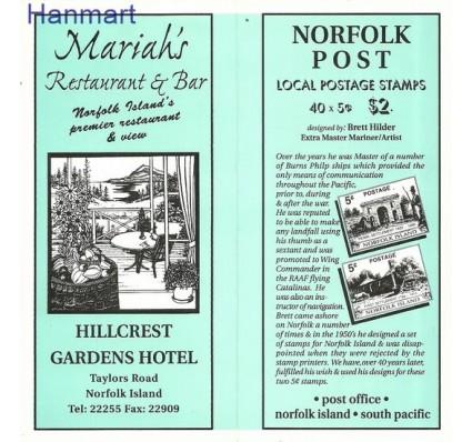 Znaczek Norfolk 1998 Mi mh653-654 Czyste **