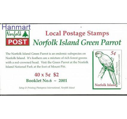 Znaczek Norfolk 2001 Mi mh741 Czyste **