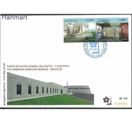 Znaczek Armenia 2015 Mi 946-947 FDC