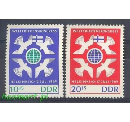 Znaczek NRD / DDR 1965 Mi 1122-1123 Czyste **