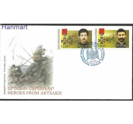 Znaczek Karabach 2015 Mi 112-113 FDC