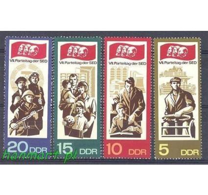 Znaczek NRD / DDR 1967 Mi 1268-1271 Czyste **